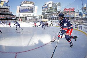 Archívna fotografia NHL Winter Classic z januára 2018.