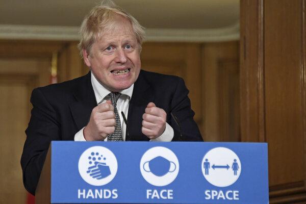 ritský premiér Boris Johnson.