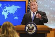 Americký minister zahraničných vecí Mike Pompeo