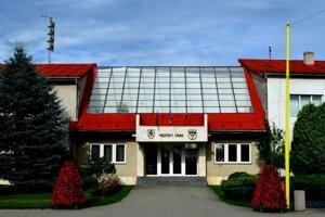Mestský úrad v Stropkove.