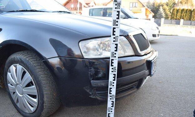 Týmto autom spôsobil vodič dve nehody a viedol ho pod vplyvom alkoholu.