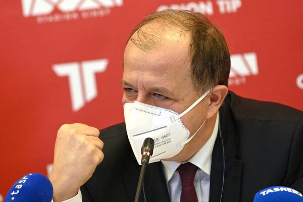 Prezident Únie miest Slovenska a primátor Trenčina Richard Rybníček.