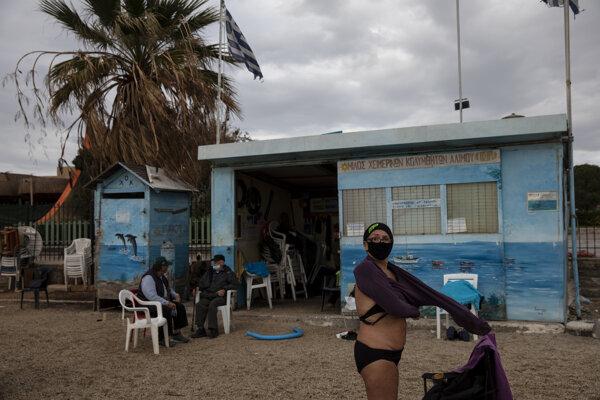 Ešte vo štvrtok si Gréci užívali až 20-stupňové teploty.