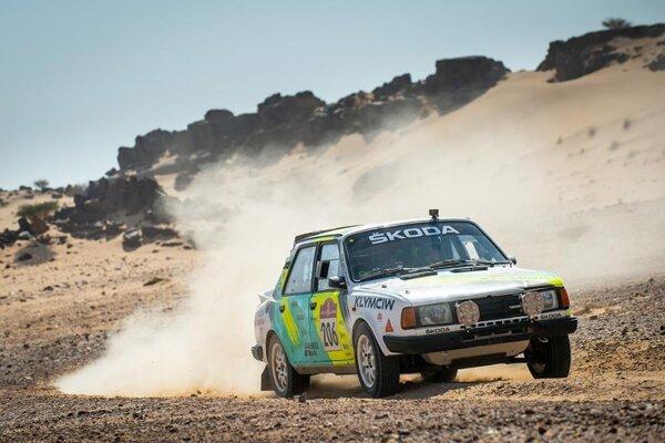 Škoda 130 LR na Rely Dakar 2021.