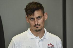 Peter Hamerlík naposledy chytal za Bratislava Capitals.