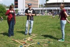 Na Pikniku ste sa mohli hrať rôzne hry.