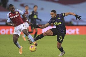 Zápas Aston Villas - Newcastle.