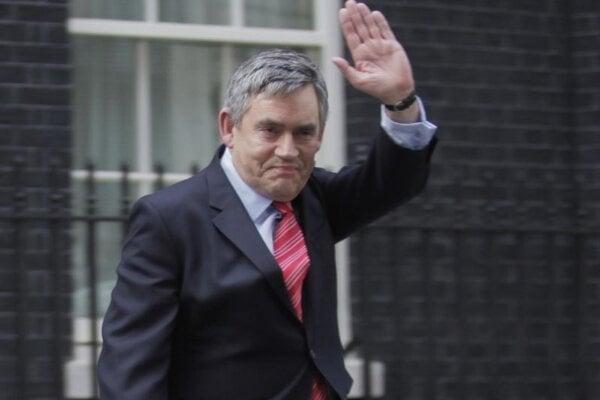 Bývalý britský premiér Gordon Brown.