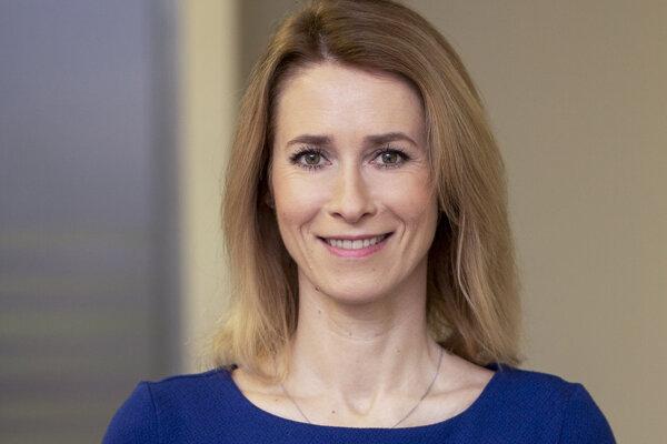 Nová estónska premiérka Kaja Kallasová.