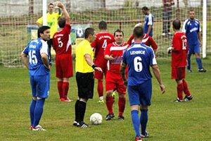 Po stretnutí Lehníc s Hornou Kráľovou prišlo k incidentom medzi fanúšikmi.