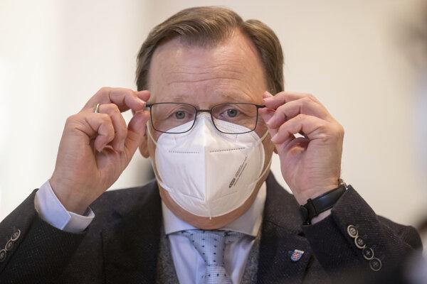 Predseda vlády nemeckej spolkovej krajiny Durínsko Bodo Ramelow.