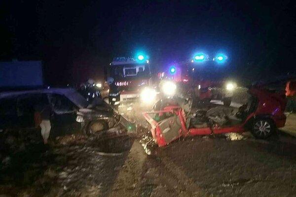 Vážna dopravná nehoda pri Trenčianskych Bohuslaviciach.