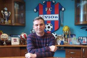 Martin Ondrejka po konci futbalovej kariéry operuje vo vedení FC ViOn.