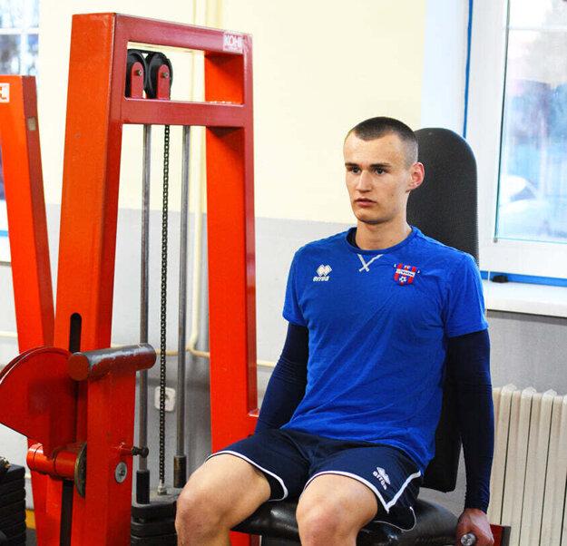 Marekovi Švecovi veštia sľubnú futbalovú budúcnosť.