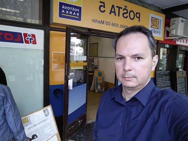 Dalibor Steindl, poslanec mesta Martin sa problematikou pošty na Severe či v Košútoch zaoberá dlhodobo.