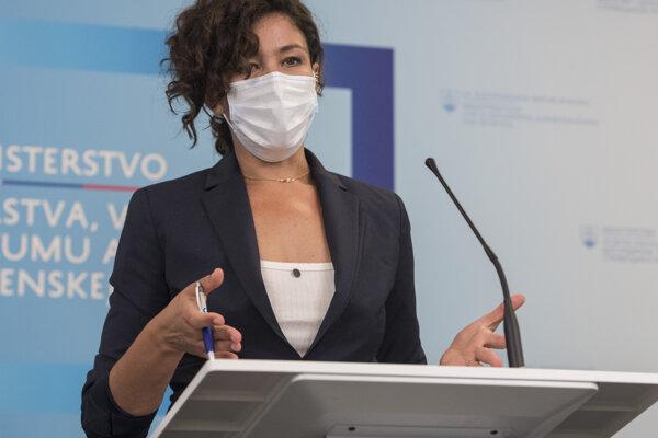 Slovenská europoslankyňa za stranu Sas Lucia Ďuriš Nicholsonová.