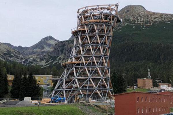 Vyhliadková veža.