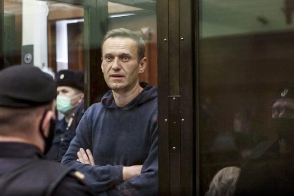 Alexej Navaľnyj sa dva a pol roka na slobodu nedostane.