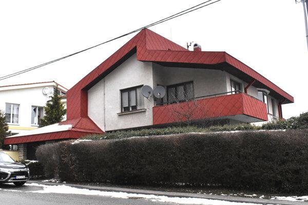 Dom Žigových rodičov a bývalé košické sídlo exministrovej firmy Taper na Hurbanovej ulici.