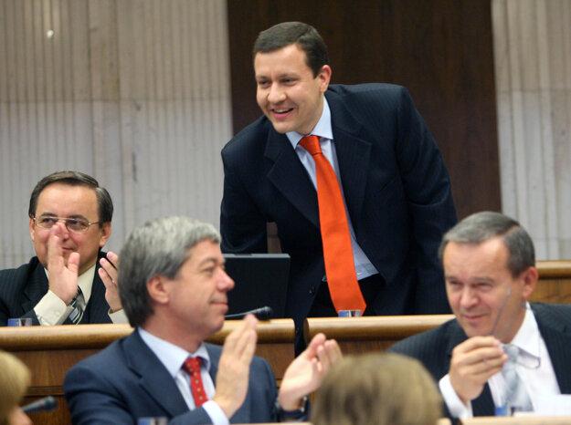 Ako poslanec v roku 2007.
