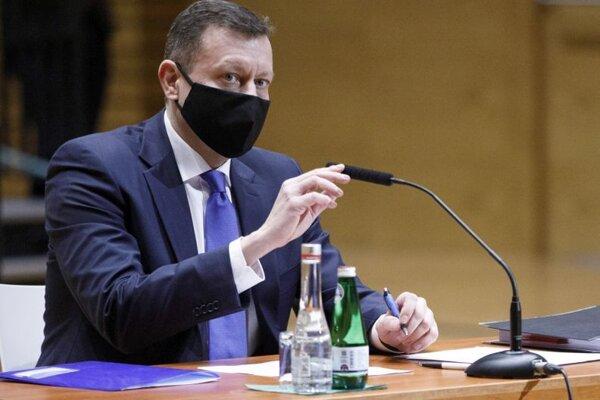 Daniel Lipšic počas vypočutia kandidátov na funkciu špeciálneho prokurátora.