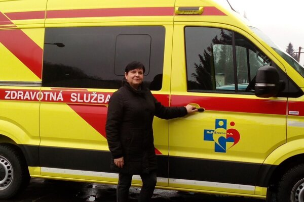 Po skúsenej záchranárke pomenovali aj sanitku.