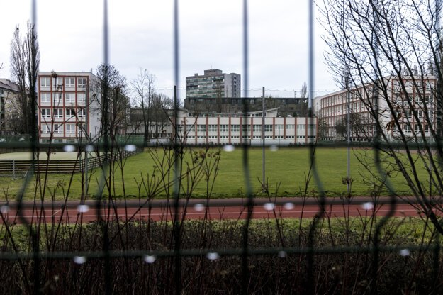Zatvorené Gymnázium na Metodovej ulici v Bratislave