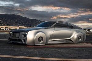 Rolls-Royce Wraith od West Coast Customs pre Justina Biebera.