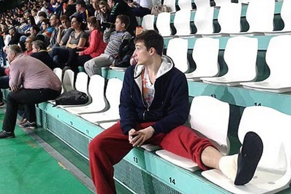 Smajlagič chýbal Nitranom v druhej polovici zápasu pre zranenie členka.