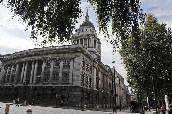 Budova londýnskeho trestného súdu Old Bailey.