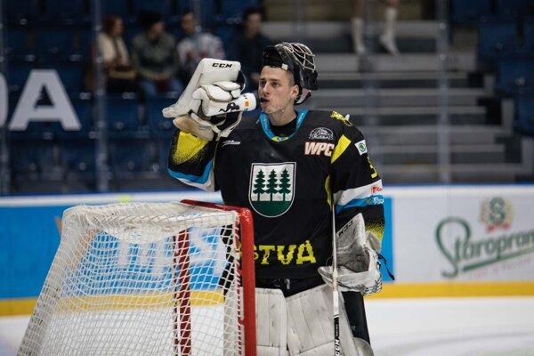 Roman Petrík stráži bránku Detvy už tri sezóny.