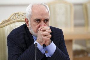 Šéf iránskej diplomacie Mohammad Džavád Zaríf.
