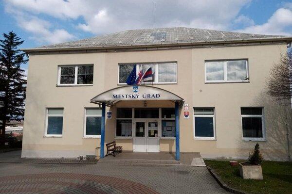 Mestský úrad Ilava.