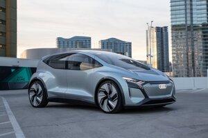 Koncept Audi AI:ME z roku 2019.
