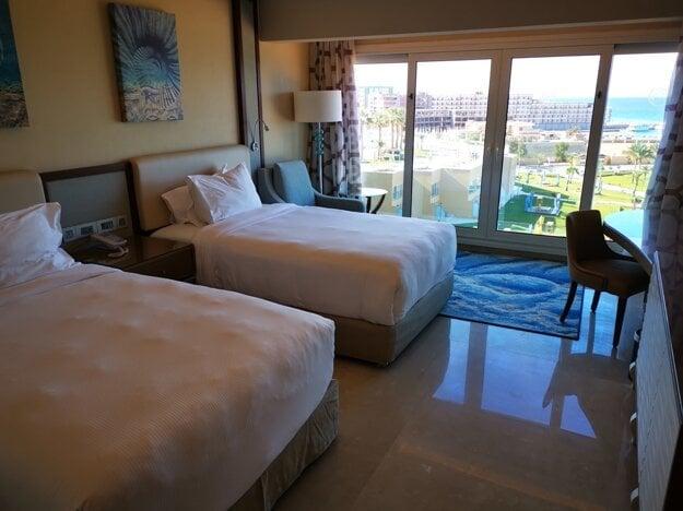 Izba v hoteli Hilton Hurghada Plaza 5*