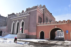 Ortodoxná synagóga na Puškinovej ulici v Košiciach.