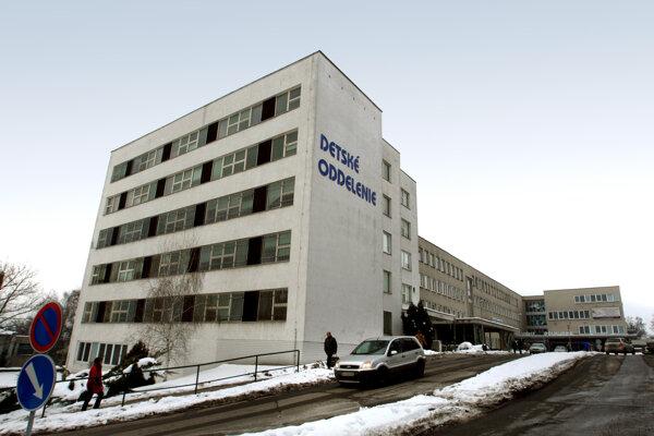 Detské oddelenie zvolenskej nemocnice.