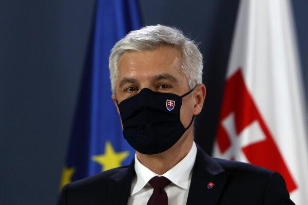 Slovenský minister zahraničných vecí Ivan Korčok.