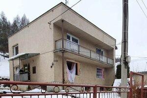 Dom, v ktorom došlo k výbuchu.