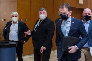 Premiér Igor Matovič si pozval vedcov a odborníkov na diskusiu o o ďalších krokoch a opatreniach, ktoré pomôžu zlepšiť epidemiologickú situáciu na Slovensku.