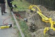 Únik plynu v Michalovciach spôsobila netesnosť.