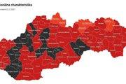 Dva z troch oravských okresov si polepšili.
