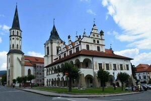 Historická radnica v Levoči.