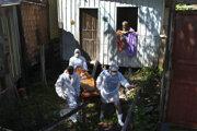 Zdravotníci v brazílskom meste Manaus.