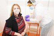 Očkovanie učiteľov v Trnave.