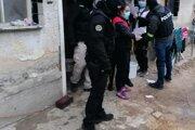 Policajná akcia sa konala dnes v Nitre.