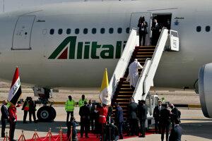Pápež bol na historickej návšteve Iraku.