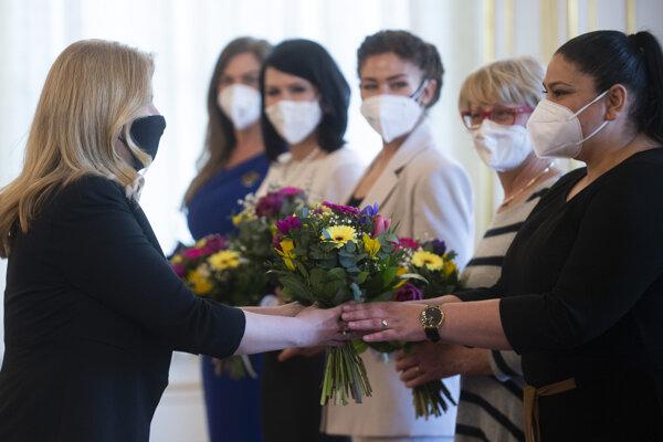 Prezidentka zorganizovala okrúhly stôl o dopadoch pandémie na život žien.