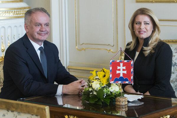 Zuzana Čaputová sa stretla s Andrejom Kiskom