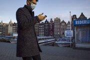 Lockdownu v Amsterdame.